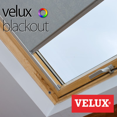 Velux bloc loft blinds the blind factory leeds for Velux solar blinds installation instructions